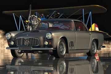 Maserati 3500 GT von 1960 - ein echter Luxus-Sportwagen aus Italien