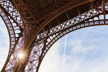 Eiffeltoren detail 2 van Dennis van de Water