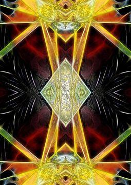 IX - De Kluizenaar (Tarot) van Lucia