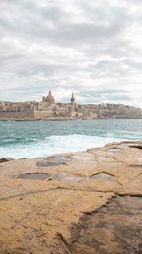 De stad Valetta I Malta van Manon Verijdt