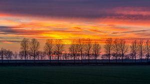 Na zonsondergang kleuren