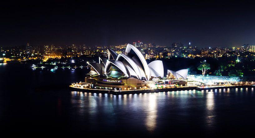 Sydney Opera House in Australië van Ricardo Bouman