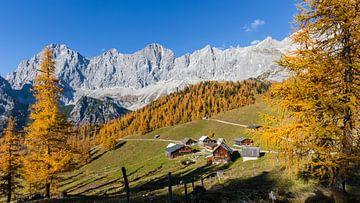 Almdorf in den Bergen von Coen Weesjes