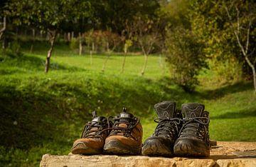 Wanderschuhe von Frans Scherpenisse