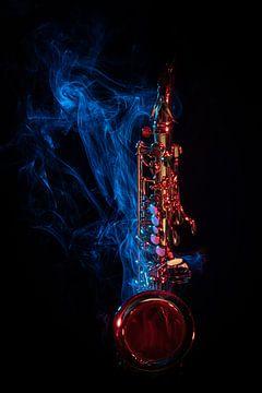 Smoking sax (saxofoon) van SEE ME fotografie