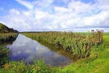 Kanal im Almere Pampus. von Jarretera Photos
