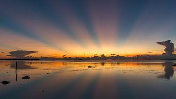 Zonsondergang Florida Keys van Erik de Rijk