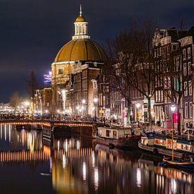 Koepelkerk, Singel Amsterdam van Henk Goossens