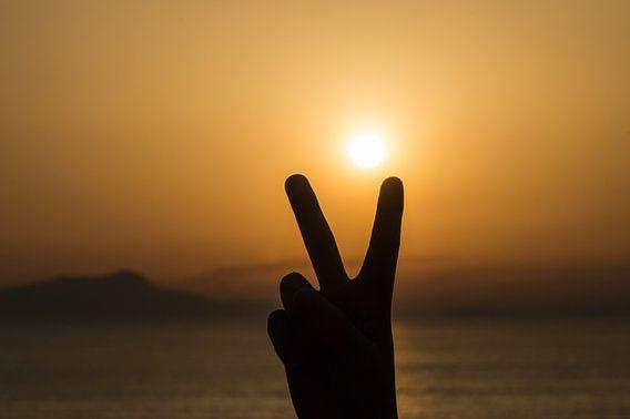 Vrede bij zonsondergang