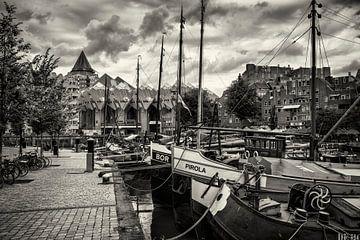 Weinhafen Rotterdam von Rob Boon