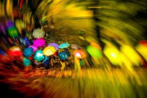 Regenkleuren van Pascal Sunday