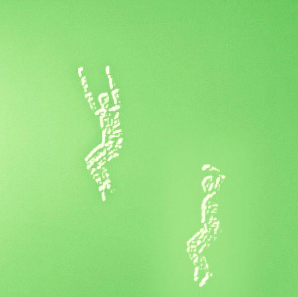 Dancers in green van Greetje van Son