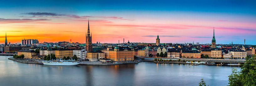 Stockholm Panorama van Adelheid Smitt