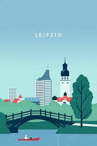 Leipzig van Katinka Reinke