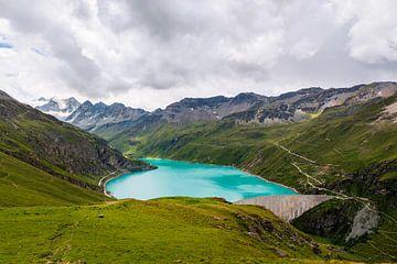 Stausee Lac de Moiry von Steven Van Aerschot