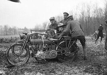first World War Harley Davidson van harley davidson
