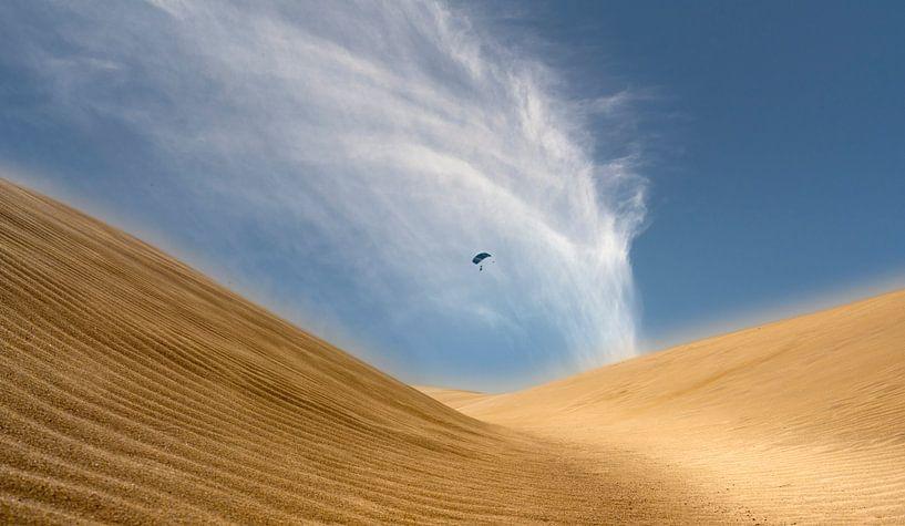 0311 Desert Kite van Adrien Hendrickx
