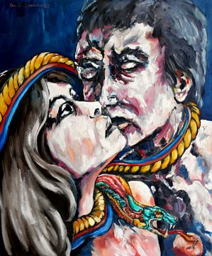 The Kiss van Eberhard Schmidt-Dranske