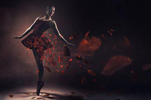 Rode ballerina