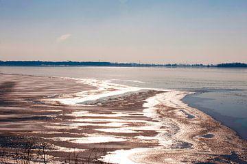 Bevroren Meer in Nederland sur