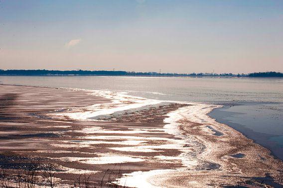 Bevroren Meer in Nederland van Brian Morgan