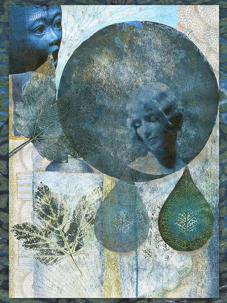 autumn blues von Hella Kuipers