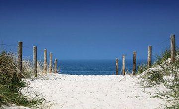 Strandübergang von Frank Herrmann