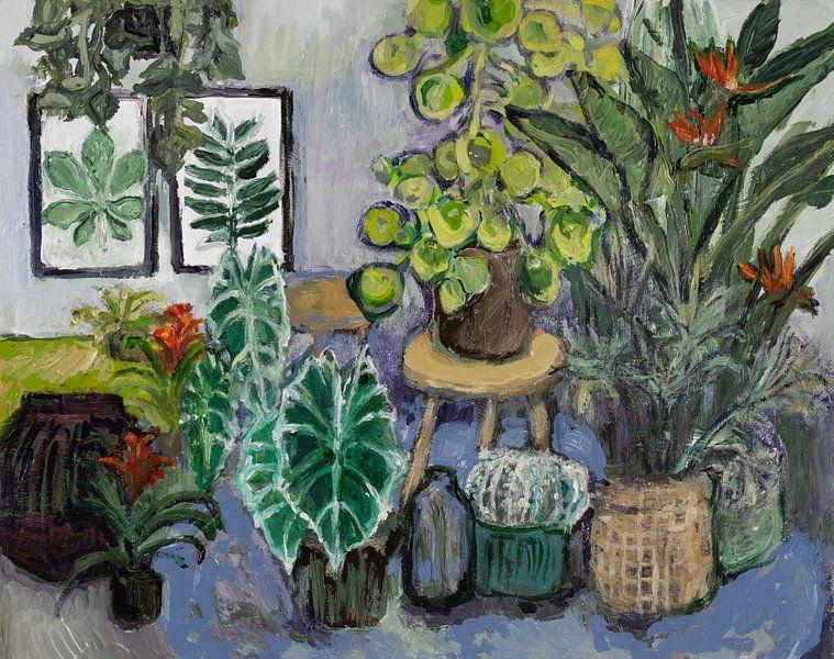 Botanisch stilleven (nr 3) van Tanja Koelemij