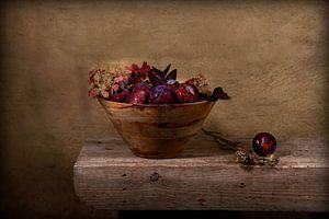 pruneaux et automne.... stillife sur Els Fonteine