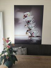 Kundenfoto: Stillleben eines hohen Tees von Dina-Artphoto, auf nahtloser fototapete