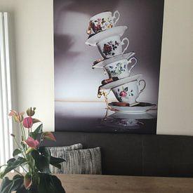 Klantfoto: Thee kopje van Dina-Artphoto, als naadloos behang