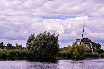 Windmühlen in den Niederlanden. von Brian Morgan
