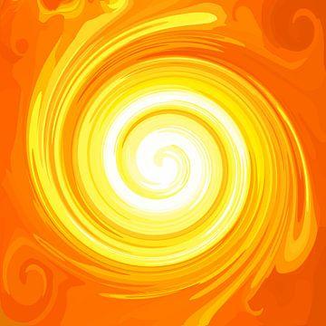 Große Sonnen Energie-Spirale von Ramon Labusch
