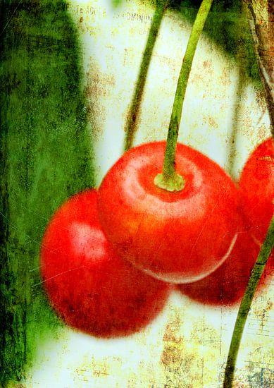Red Cherries van Rosi Lorz