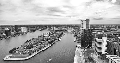Het Noordereiland in Rotterdam van