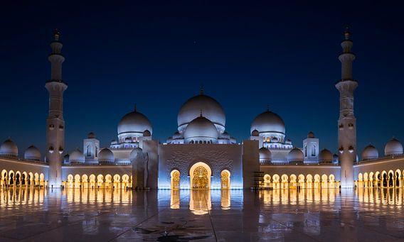 Sheikh Zayed Grand Mosque van Martijn Kort