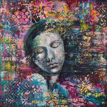Fließende von Flow Painting