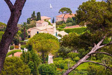 Villa's in Cap Ferrat aan de Côte d'Azur van Werner Dieterich