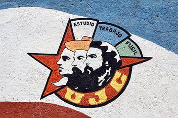 Cubaanse muurschildering von Elles Rijsdijk