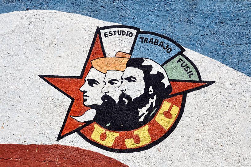 Cubaanse muurschildering sur Elles Rijsdijk