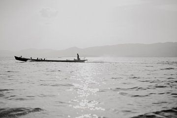 Inle lake - Myanmar von Roosmarijn de Groot