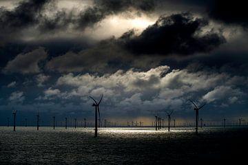 windenergie op zee van Menno Mulder
