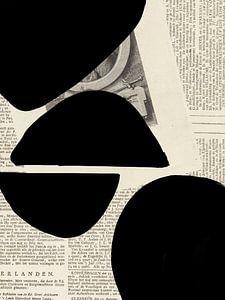 Abstraktes Papier VIII