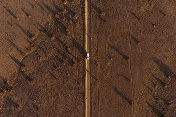 Strasse in Namibia van