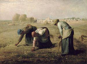 Die Erntemaschinen, Jean-François Millet