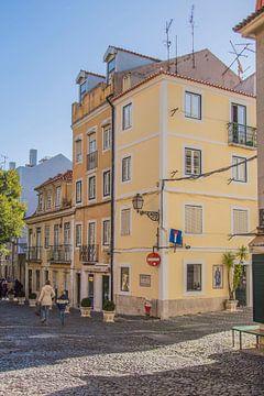 Gebouwen in Lissabon van Bianca Kramer