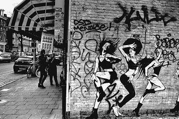 Amsterdam graffiti van Marianna Pobedimova