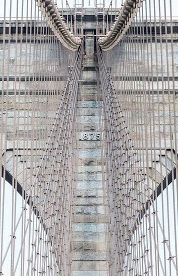 Brooklyn Bridge New York Close-up