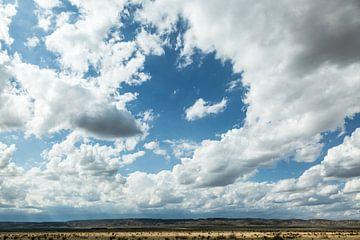 Wolkenlucht in New Mexico van Els Broers
