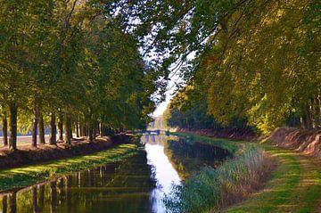 Schipbeek herfst 2016 van Marjan Noteboom